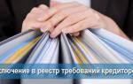 Реестр требований кредиторов коммерсант