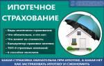 Застраховать квартиру для ипотеки