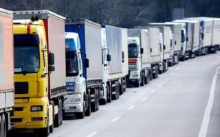 Последние новости про забастовку дальнобойщиков